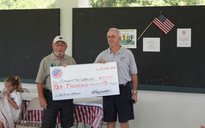 Disabled Veterans National Foundation awards grant for $10,000.00